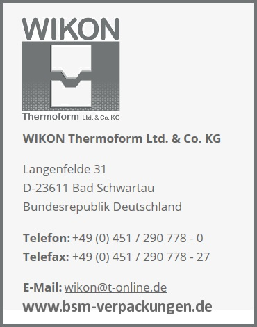 WIKON Thermoform Ltd. & Co. KG